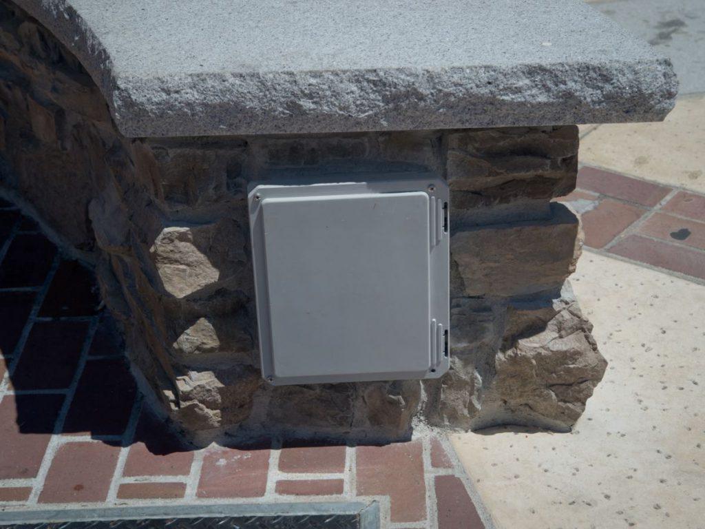City of Auburn Fire Pit - Controls