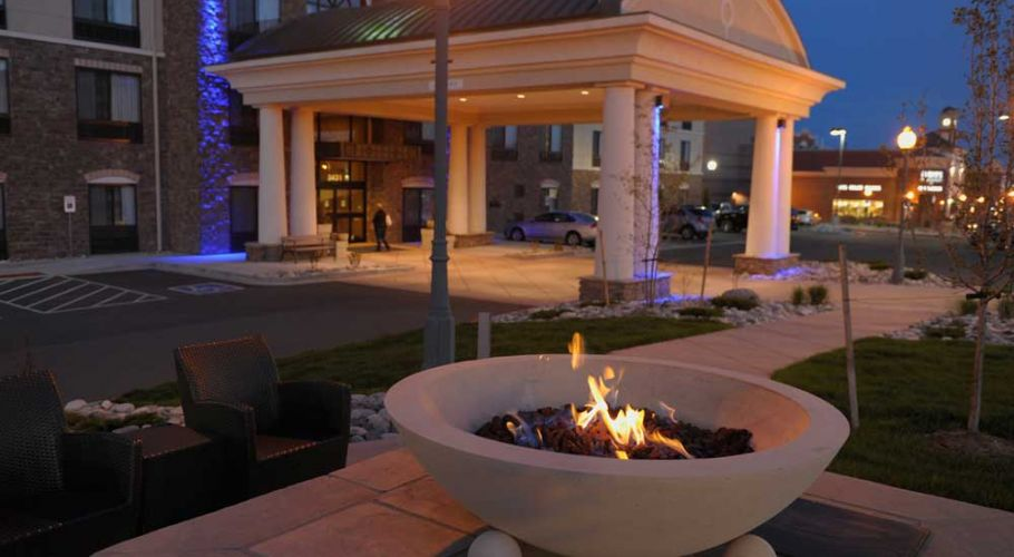 Cozy up to Fire Pit