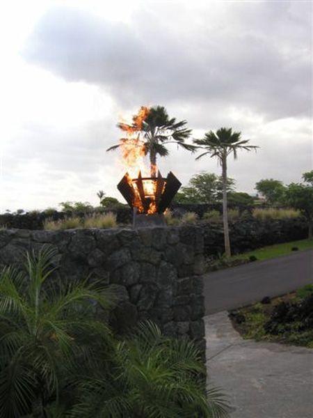 Custom Fire Torch Hawaii