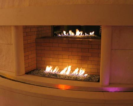 Indoor Style Fire Pit Boston