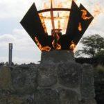 Kailua Knoa Hawaii Fire Torch