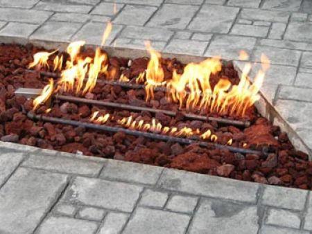 Trapezoidal Fire Pit